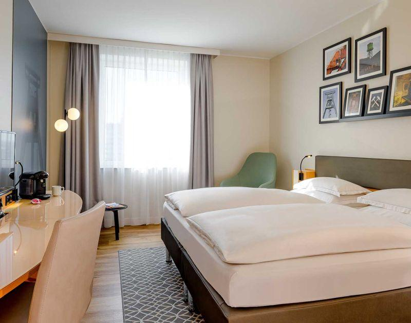 Zimmer im Mercure Hotel Bochum